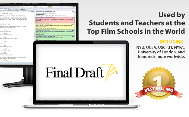 Used by Students and Teachers at the Top Film Schools in the World