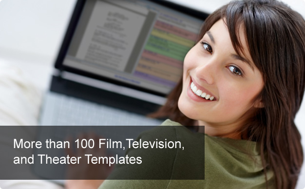 More than 100 Film, Television, and Theater Templates